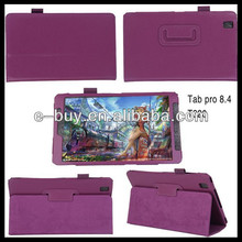 folio leather tablet case cover for Samsung Galaxy Tab Pro 8.4 T320