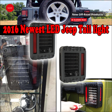 YONGJIN 2016 NEW PRODUCT for jeep wragler led tail light/parts price for jeep wrangler