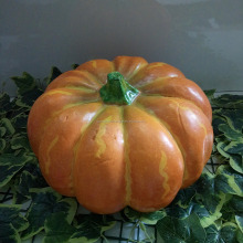 artificial plastic pumpkin for halloween decoration