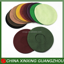 CHINA XINXINGHot selling Cheap Price wool acrylic berets for sale men and women