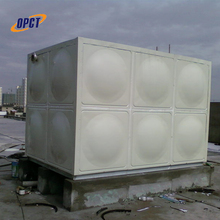Low price insulation horizontal clear plastic frp fiberglass water tank