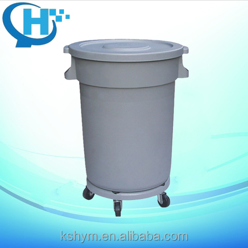 80L clear plastic garbage cans