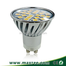 5050SMD led spot 3 years warranty aluminium 85-265V led light bulb gu10, gu10 led dimmable, gu10 led lamp