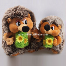 2018 new style plush toy hedgehog for kids,35cm 45cm height