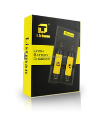 Rechargeable Universal 18650 3.7V Lithium Battery Charger X2 Listman/dual slots Intelligent Li-ion 18650 Battery Charger X2