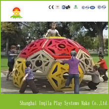 Kids plastic domed rock preschool indoor climbing wall