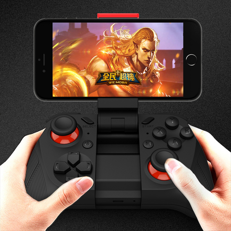 MOCUTE 050 Gamepad Joystick Bluetooth Controller Selfie Remote Control Shutter Gamepad for iPhone Andriod VR 3D glasses