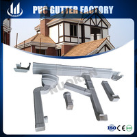 NUORAN 5 Inch K style pvc guttering for building's rainwater drainage system