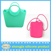 Lady fashion silicone handbag/women silicone tote bag hot silicone hand beach bag in China