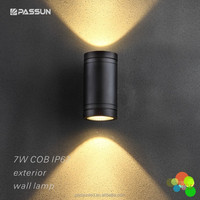 contemporary up and down led outdoor wall light