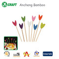 B1812 ancheng factory wedding favor food finger picks for party /fruit