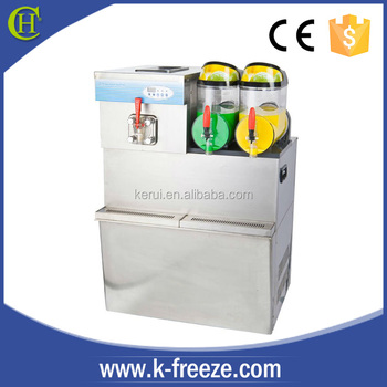 10 years professional manufacture slush ice cream machine 2 in 1 CE
