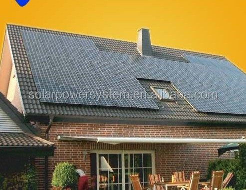 No.2 MPPT high efficiency 3000W solar system electricity