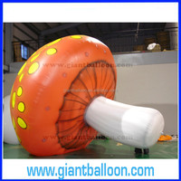 Decoration Inflatable Giant Plastic mushroom