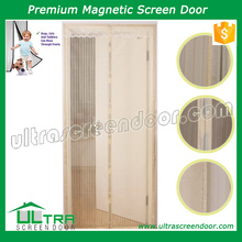 Magic mesh magnetic screen door cover anti insect