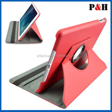 360 Degree Rotating Stand Leather Case For Ipad Stand Leather Case With Holder