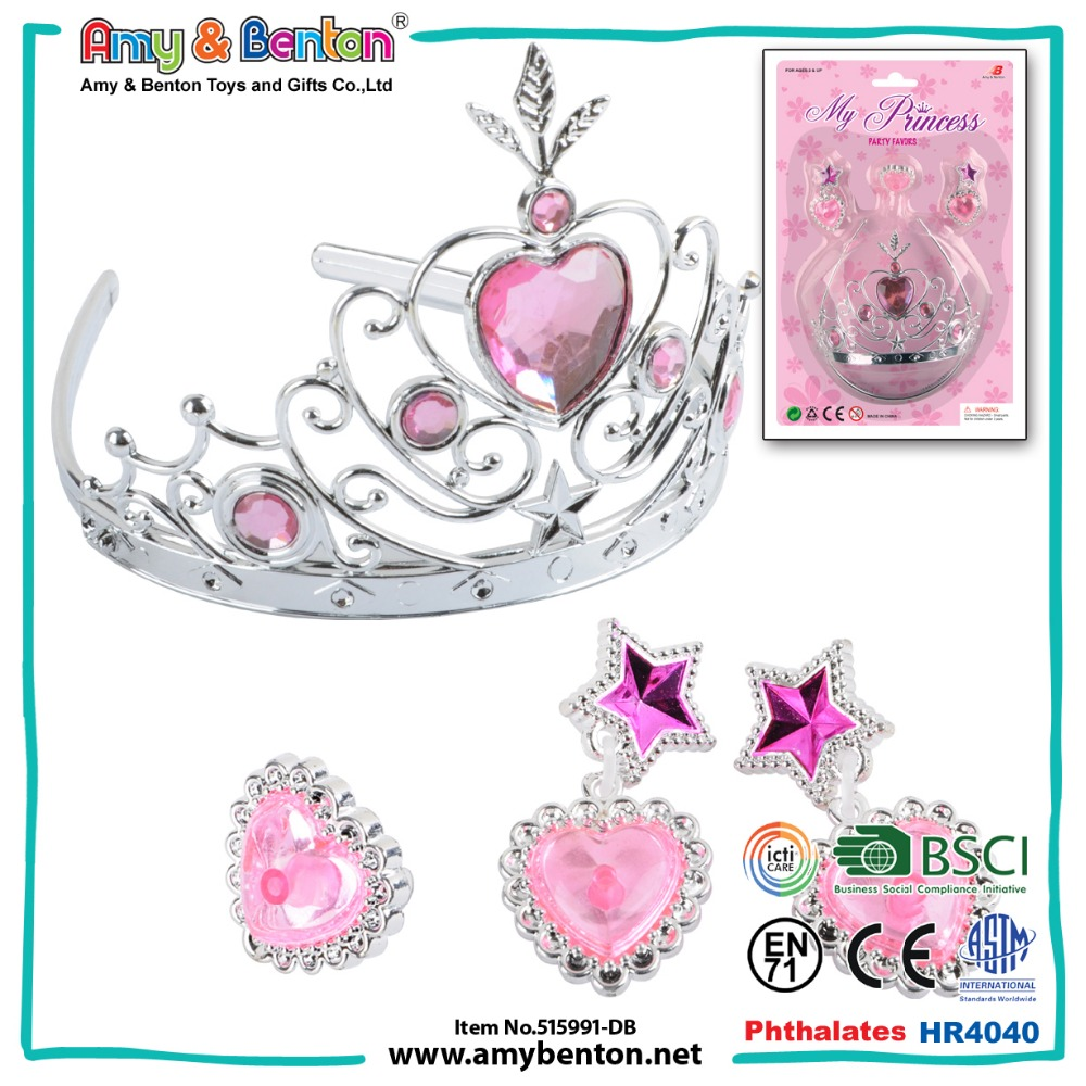 Promotional giveaways cheap princess pageant crowns for kids