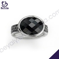hot sale fashion desing ring jewelry agate stone ring