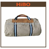 wholesale hiking shopping outdoor sports canvas leather duffle bag