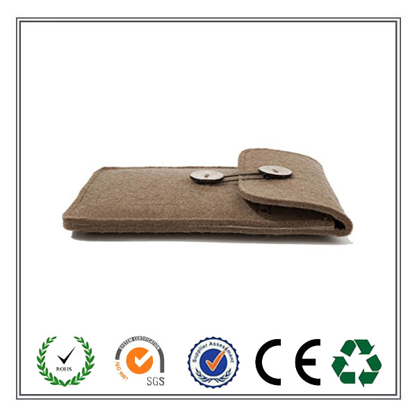Wholesale hot selling multifunctional Felt Mobile Phone cover