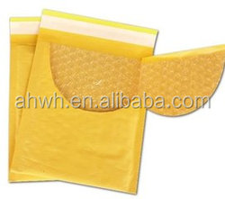Plastic Courier Mailing Bag/yellow bubble bag