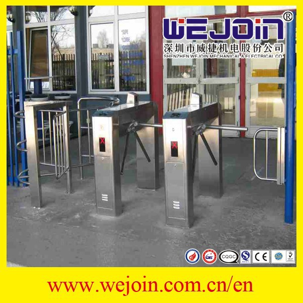 Intelligent Tripod Turnstile Gate Used In High Level Community