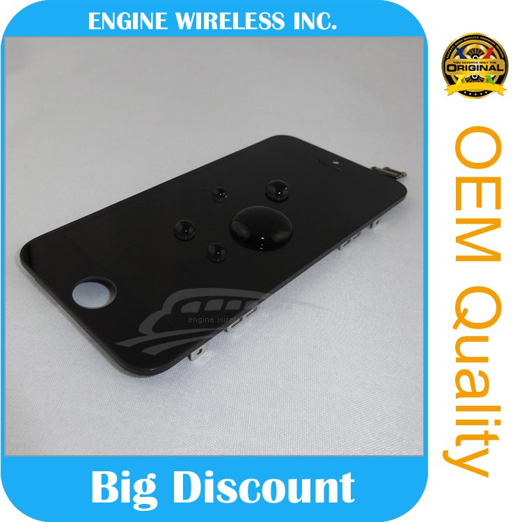 "Original wholesale for iphone 5"" lcd and digitizer original genuine brand new"