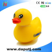 Water proof mini rubber duck usb flash drive attractive gift for kid