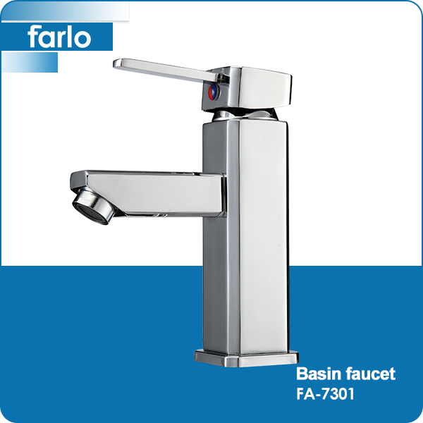 FARLO Wholesale china import brass body cascade basin faucet