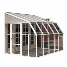 Curve glass sun rooms/glass sunroom/aluminum extrusion sunroom