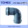 Free samples customed color water system rubber pvc pipe fitting