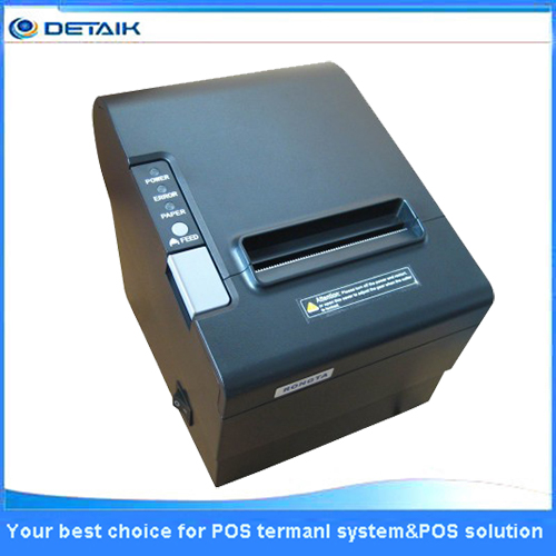 80 mm Thermal POS Receipt Printer with USB RS232 Lan