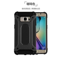 crashproof heavy duty armor plate rugged bumper case for samsung s6 edge