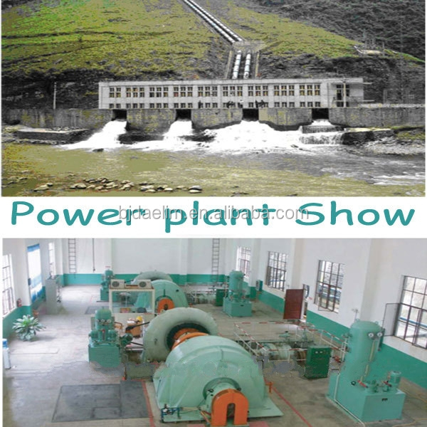 High Efficiency Hydroelectric Generator For Small / Medium Plant