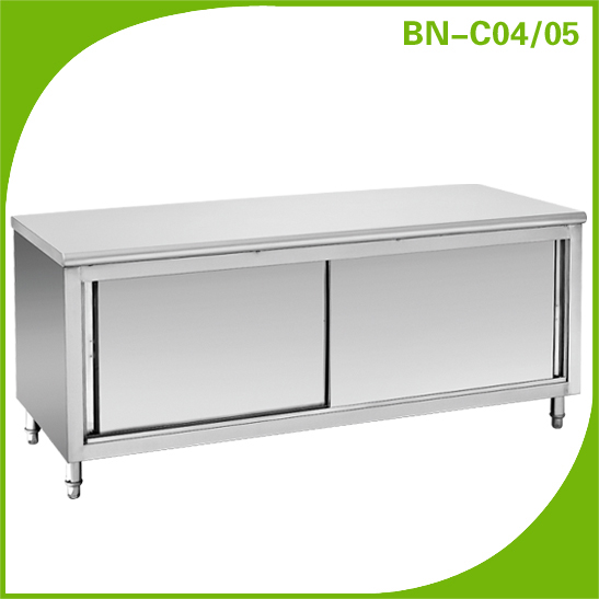 Commercial hotel kitchen supplies stainless steel cabinet BN-C05