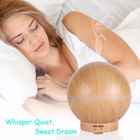 High Quality Wooden Grain Essential Oils Guide 400ml Young Living Diffuser Aroma Diffuser
