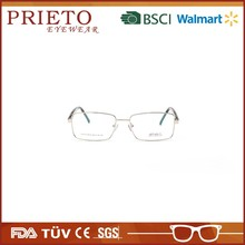 Hot selling metal half rim stylish glasses frame for men made in China