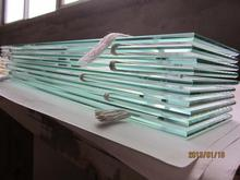Plastic tempered glass for builiding