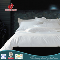 warm european style hotel bed linen