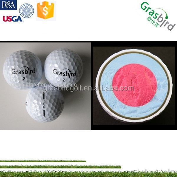 golfballs clean branded oem 4 layer soft feel spin control golf ball
