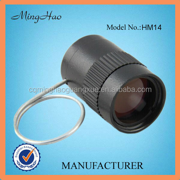 HM14, top quality fixed focus video monocular telescope