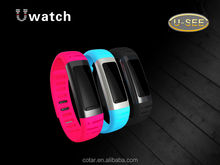 U watch 2014 bluetooth watch mp3 player bluetooth headset watch(U9)