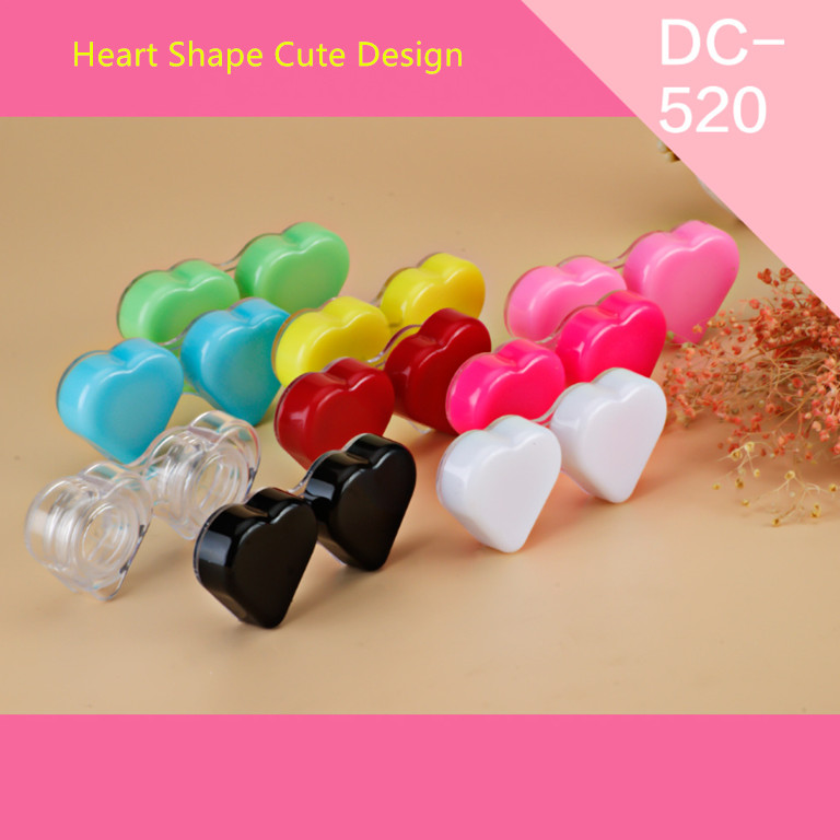Plastic custom logo eyewear accessories contact lens cases box
