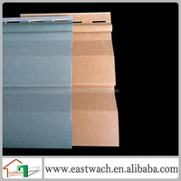 Most popular solid pvc siding