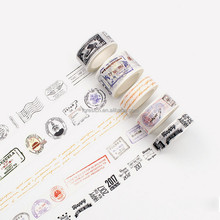 customed printing washi tape for whosale DIY Decoration