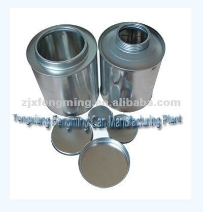 1L packing chemical cans, quart paint cans