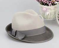 fashion Man custom wool felt hat fedora wholesale