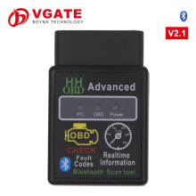 2016 Mejores ventas <span class=keywords><strong>de</strong></span> SUPER MINI ELM327 Bluetooth OBD2 V2.1 Smart Car Diagnostic Interface ELM 327 Herramienta <span class=keywords><strong>de</strong></span> Escaneo Inalámbrico