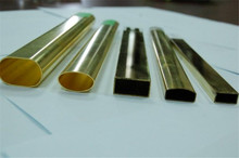 OEM thin walled brass tube and welded brass pipe parts
