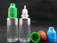 Alibaba China wholesale normal/thin tip 15ml 30ml write bottles for E-liquid